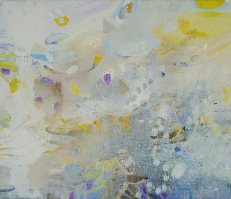 Schilderij in olieverf 'Bij de Waddendijk 1'- Ilse Brul