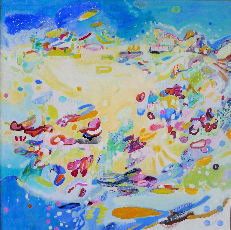 Dotlingen, geschilderd door Ilse Brul - landschapsschilderij
