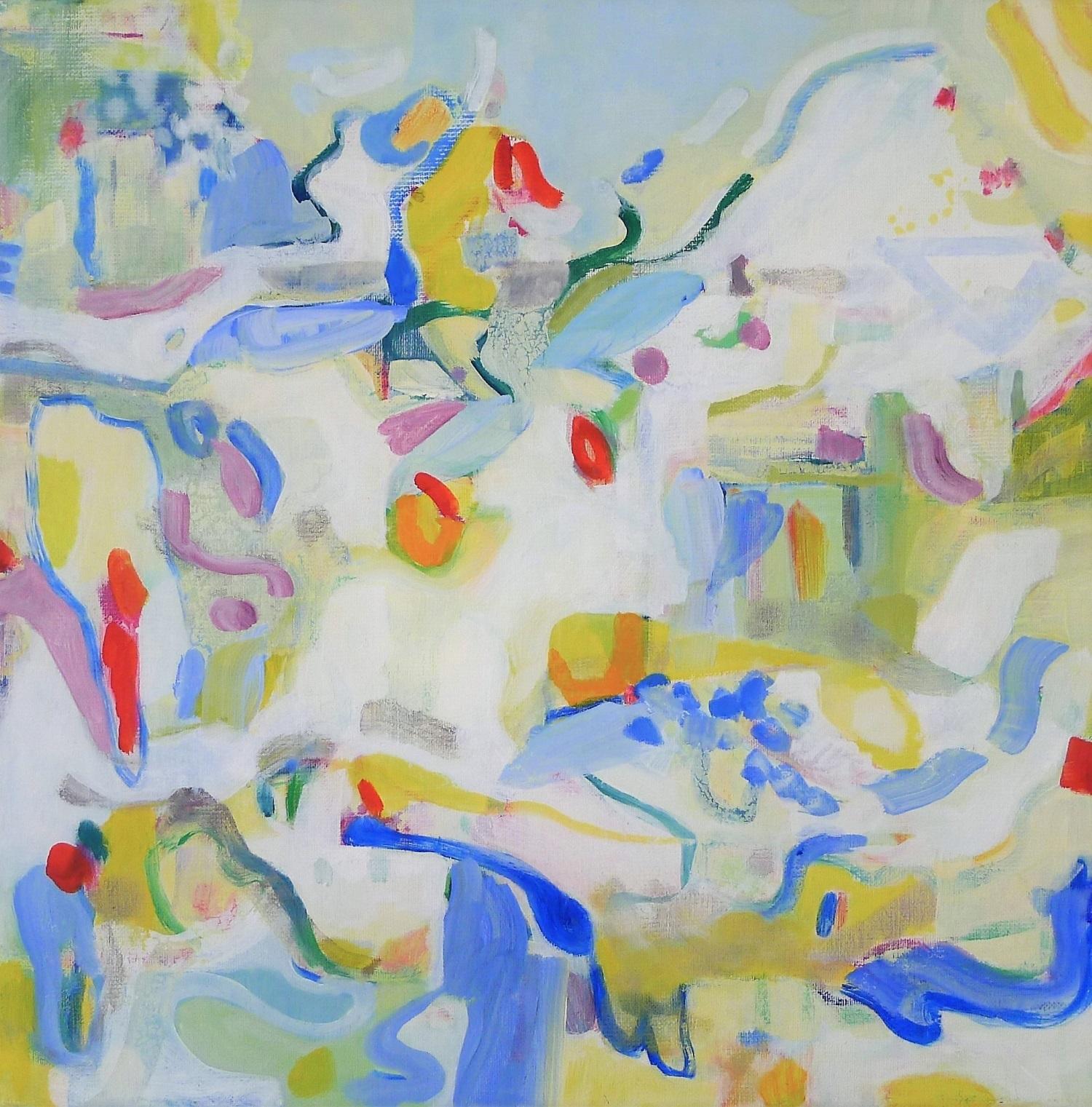 Via Dotlingen, geschilderd door Ilse Brul