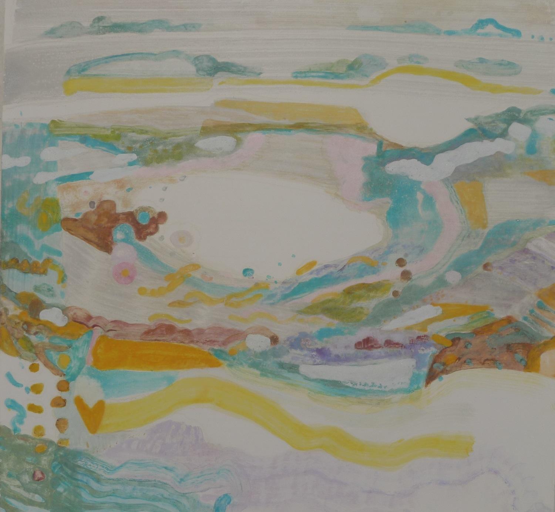 Duinen, geschilderd door Ilse Brul